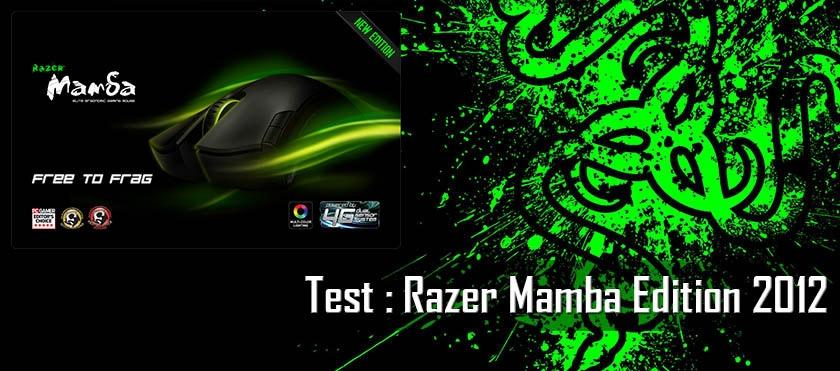 Test : Razer Mamba Edition 2012