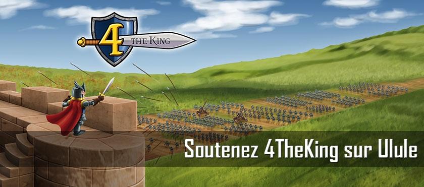 Soutenez 4 The King sur Ulule