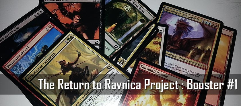 Return To Ravnica Project : Booster #1