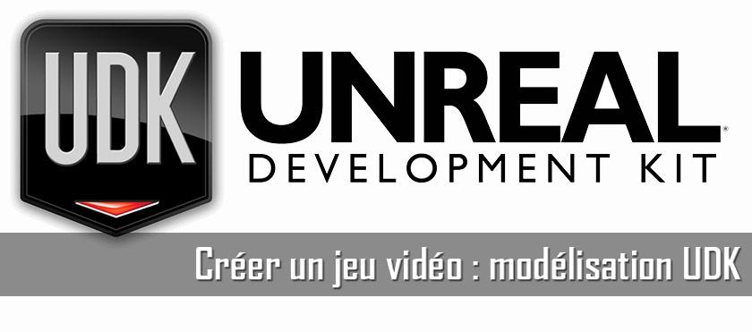 Créer un jeu vidéo : modélisation UDK