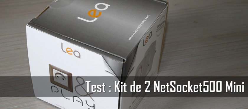 Test : Kit de 2 NetSocket500 Mini
