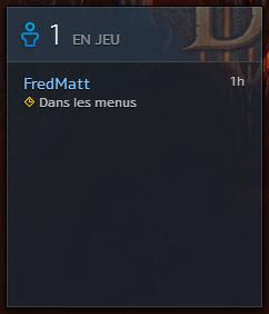 Blizzard : les amis connectés