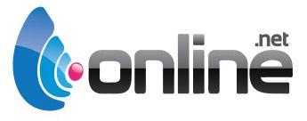Online.net Hebergement Serveurs Domaines