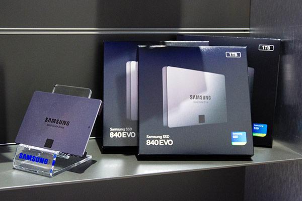 Samsung : SSD 840 Evo
