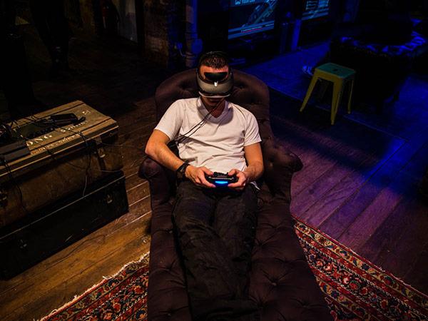 L'Oculus Rift version Sony