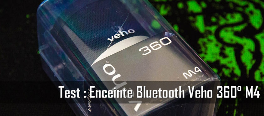 Test : Enceinte Bluetooth Veho 360°
