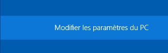Windows 8 : Modification des paramètres du PC