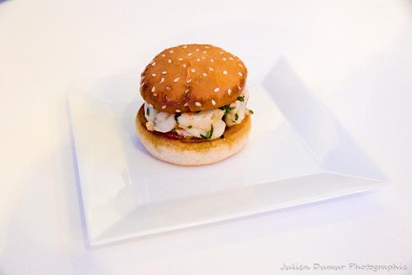 Hamburger Gambas Charles Gilles-Compagnon