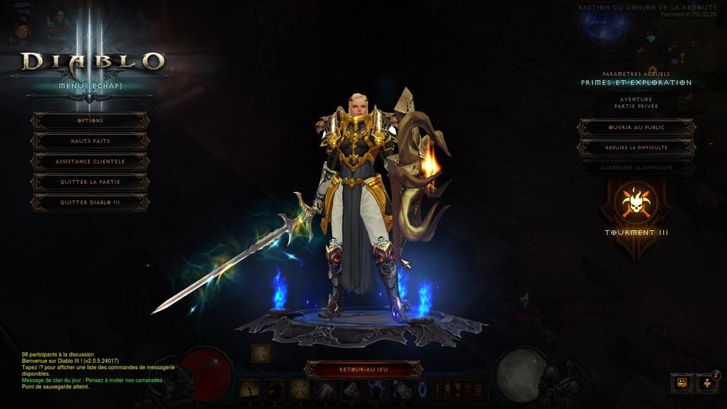 Diablo 3 : le croisé