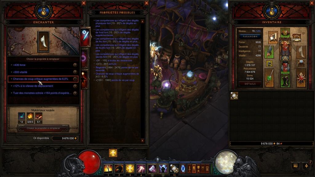 Diablo 3 : le système d'enchantement