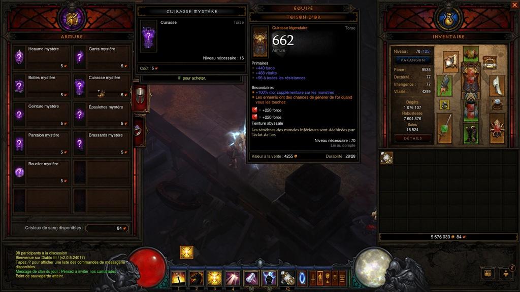 Diablo 3 : Kadala, pourvoyeuse de matériel aléatoire