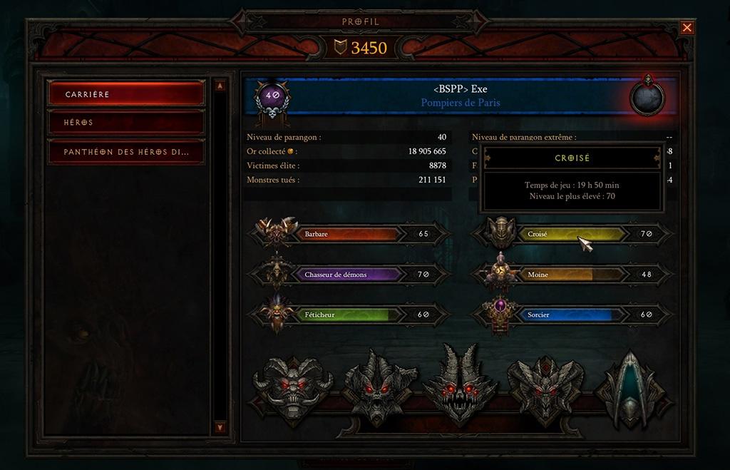 Diablo 3 : le pex