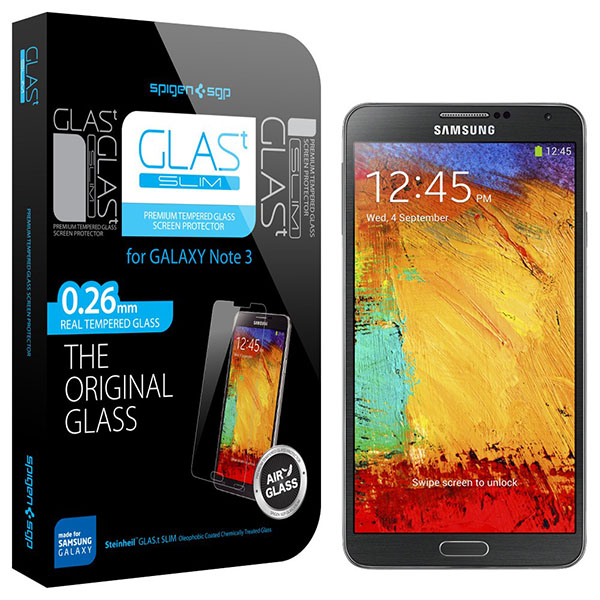 Galaxy Note 3 Spigen Screen Protector GLAS.t