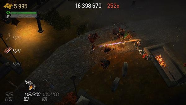 Dead Nation : t'as vu mon gros lance flamme ?
