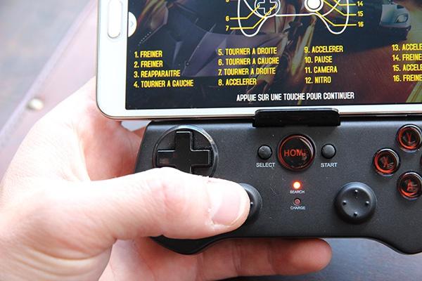 Manette Bluetooth Ipega Smartphone Android et iOS