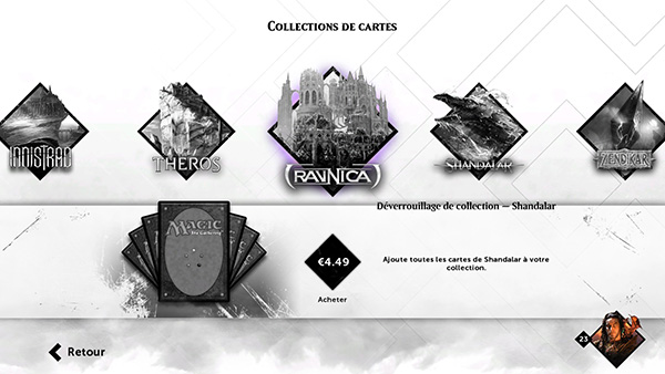 Magic 2015 : Des collections de cartes disponibles sur la boutique
