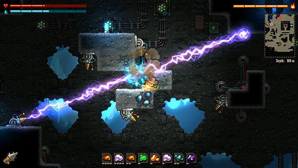 SteamWorld Dig : Une exploration souterraine pleine de dangers