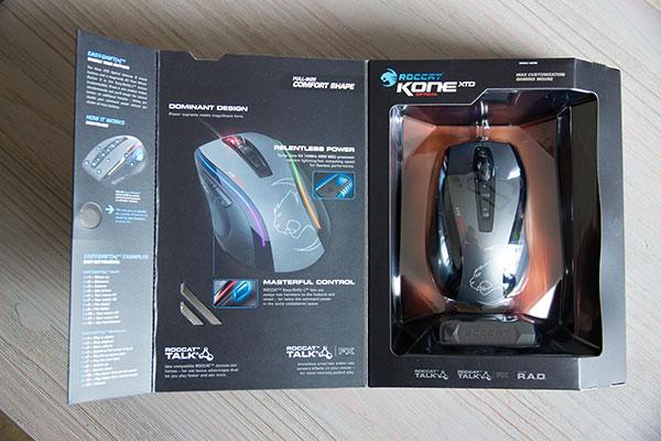 ROCCAT Kone XTD Optical : un package haut de gamme