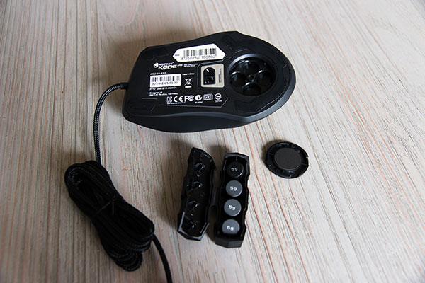 ROCCAT Kone XTD Optical : un poids ajustable