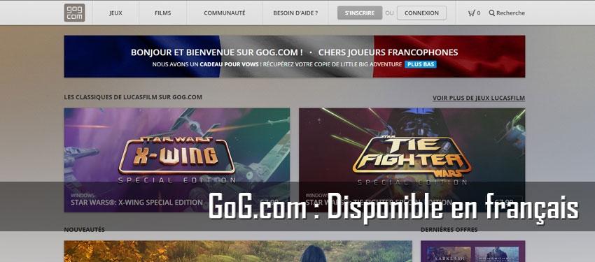 GoG.com est disponible en français
