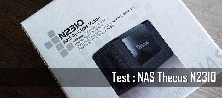 Test : NAS Thecus N2310