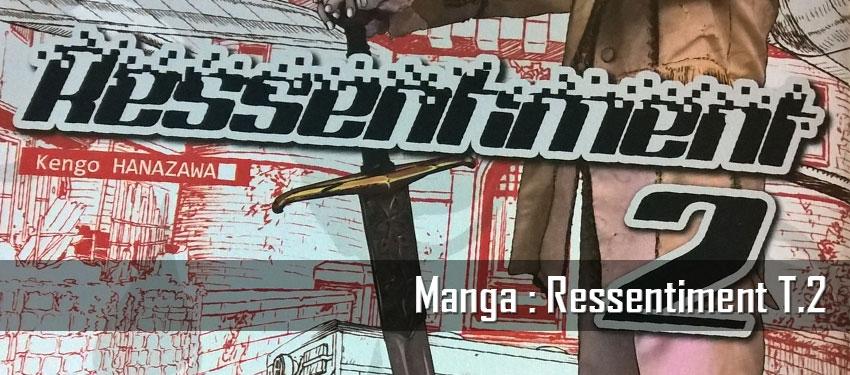 Manga : Ressentiment T.2