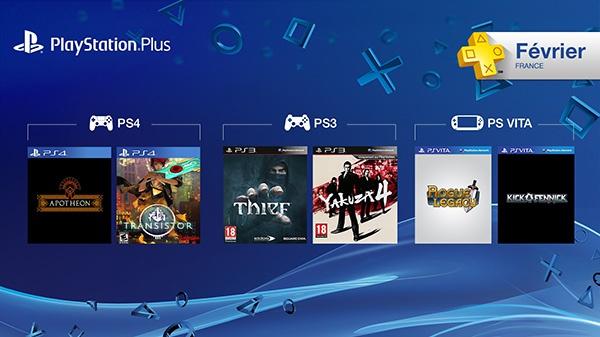 PS+ : les jeux offerts en février 2015 !