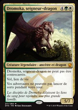Dragons de Tarkir : Dromoka, seigneur dragon