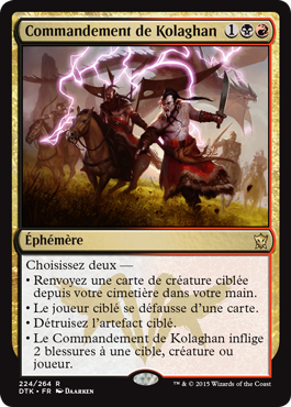 Dragons de Tarkir : Commandement de Kolaghan