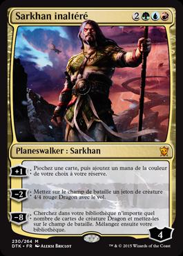 Dragons de Tarkir : Sarkhan inaltéré
