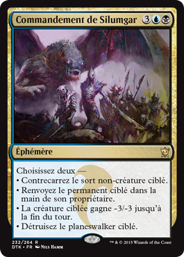 Dragons de Tarkir : Commandement de Silumgar