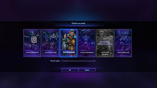 Heroes of the Storm : des modes de jeu variés