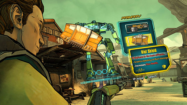 Tales from the Borderlands : le choix de la tactique du Loaderbot