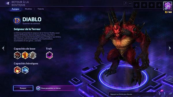 Heroes of the Storm : Diablo est dans la place !