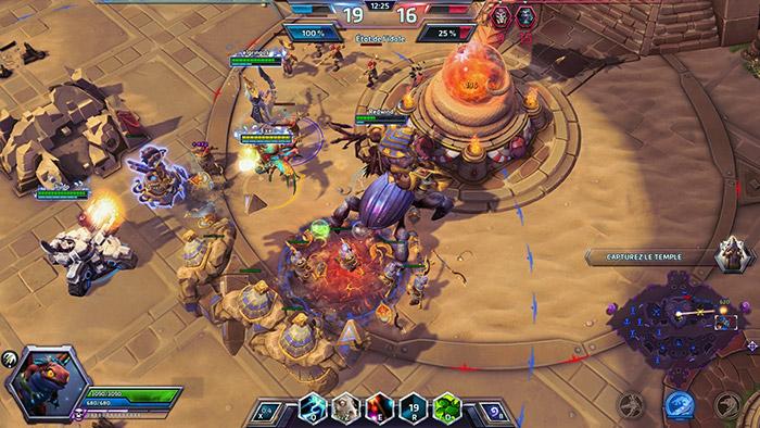 Heroes of the Storm : une défense un peu légère rime souvent avec se faire rouler dessus...