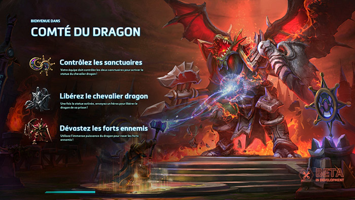 Heroes of the Storm : le Compté du Dragon