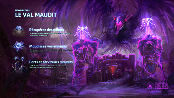 Heroes of the Storm : le Val Maudit