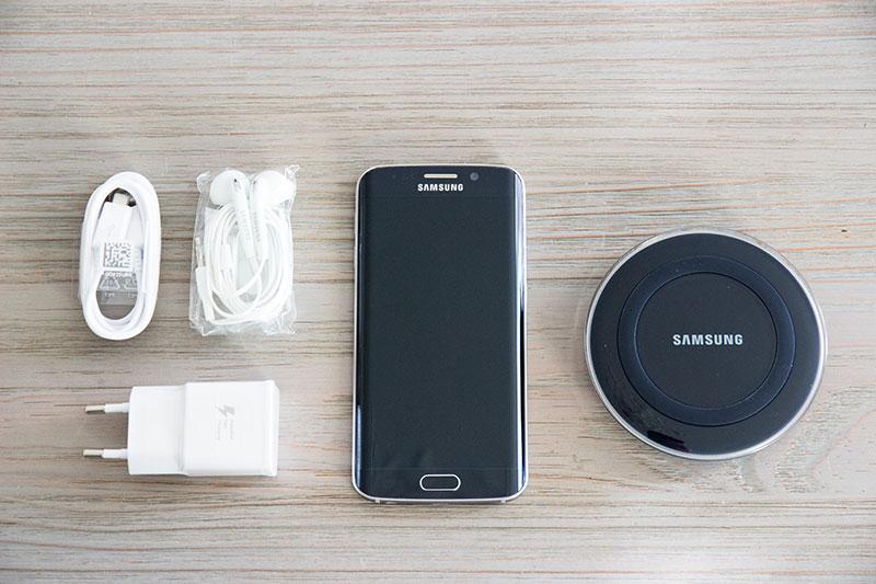 Samsung Galaxy S6 Edge : un package classique