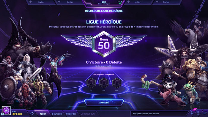 Heroes of the Storm : la ligue héroique