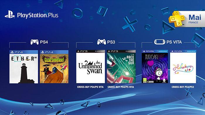 Playstation Plus : les jeux offerts de mai !