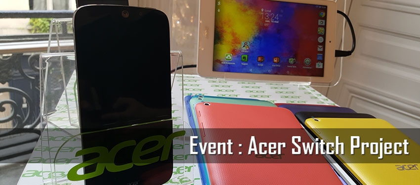 Event : Acer Switch Project