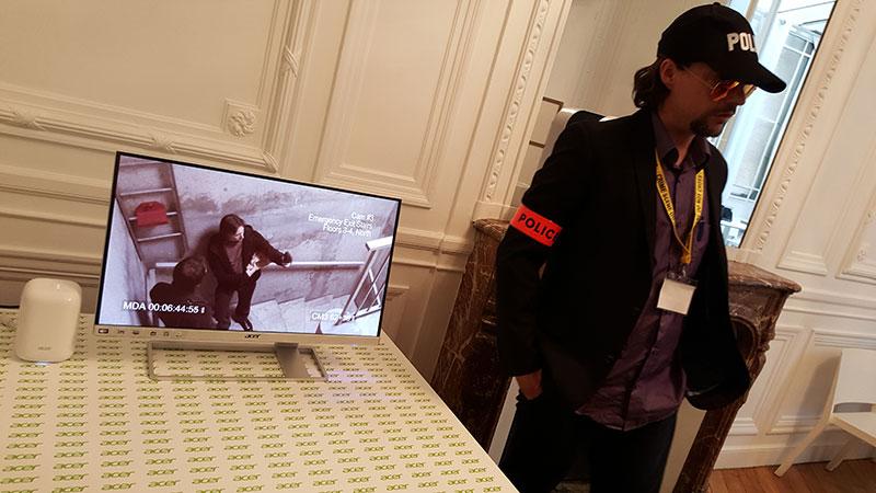 Acer Switch Project : la police est sur les lieux