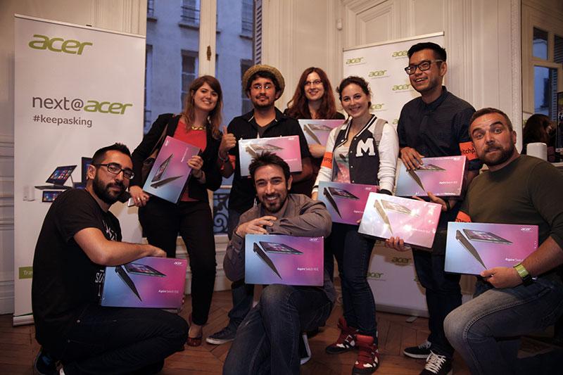 Acer Switch Project : l'équipe qui a remporté le concours