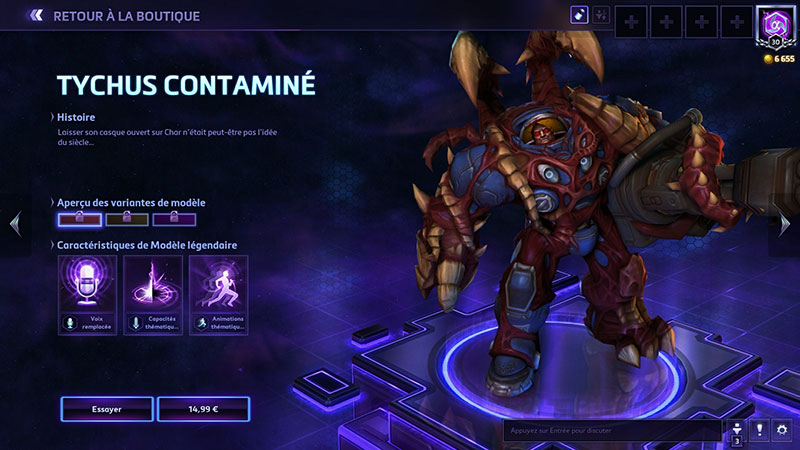 Heroes of the Storm : des skins un poil chers