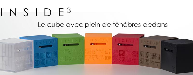 Inside³ : le cube qui va vous rendre fou !