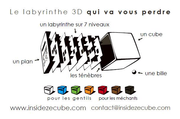 Inside³ : un cube modulable