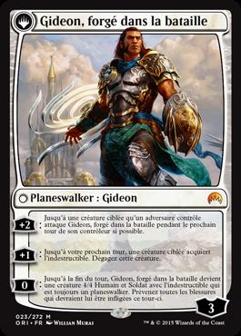 Gideon, forgé dans la bataille