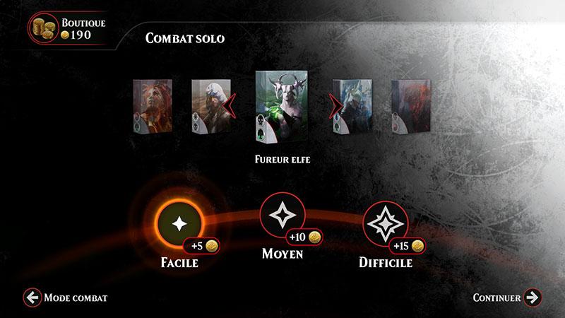 Magic Duels : les quêtes et les parties versus permettent de remporter de la monnaie virtuelle