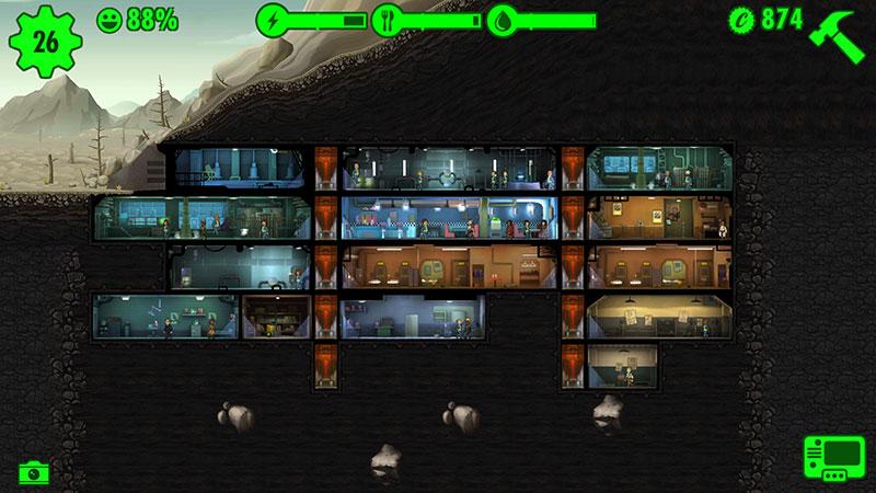 Fallout Shelter : l'abri