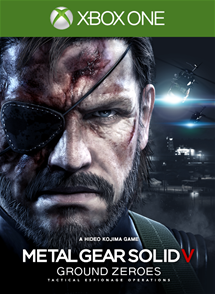 Metal Gear Solid V Ground Zero sur le Xbox Live